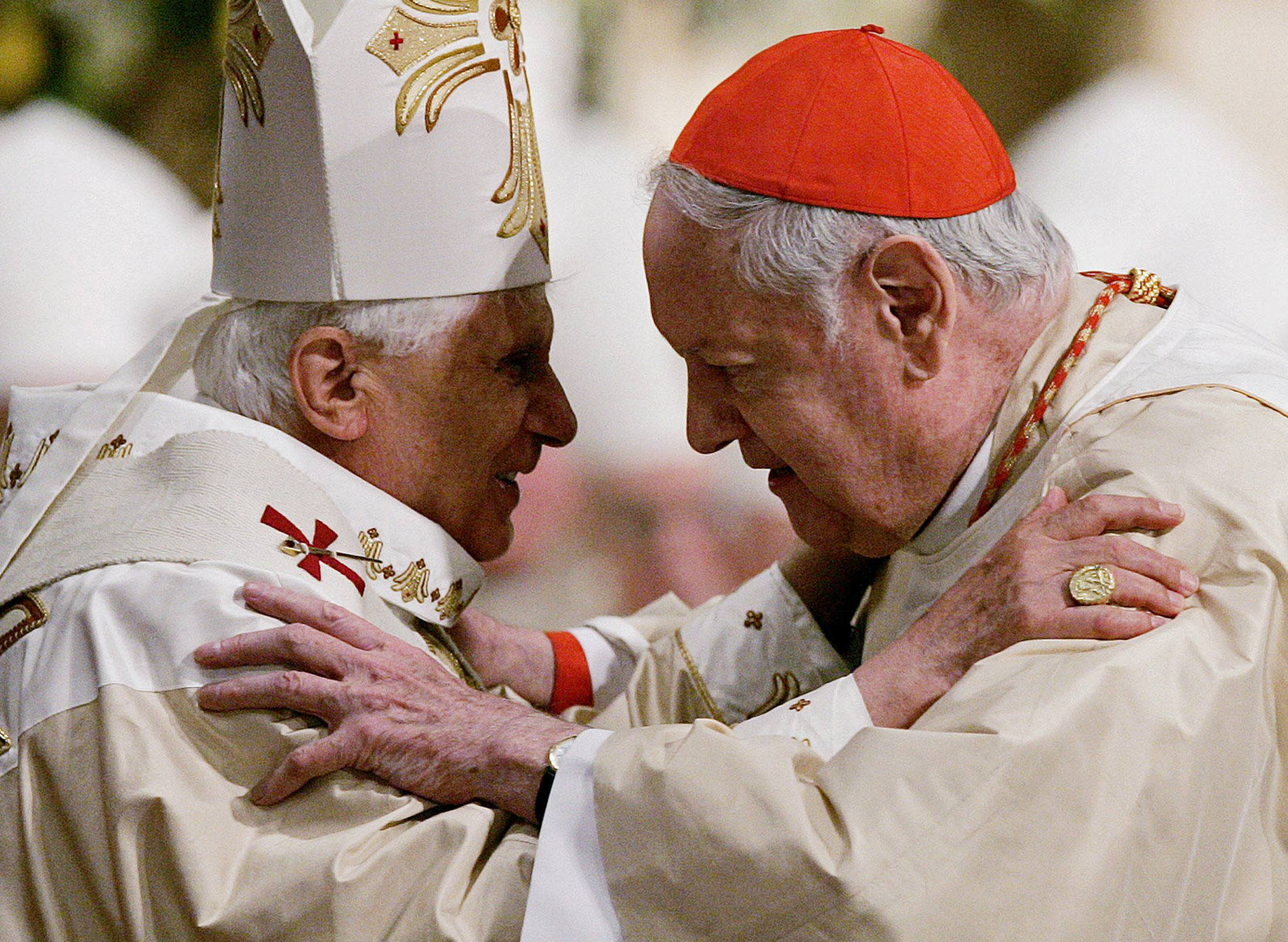 Cardinal Edward Egan, former archbishop of New York, dies at 82