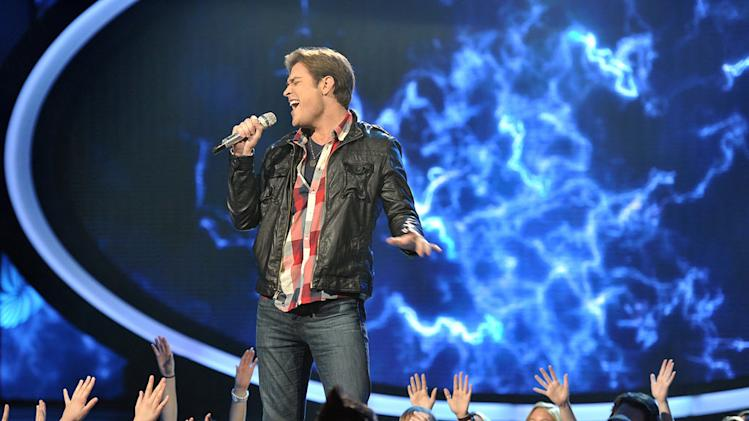 "Chase Likens performs ""Storm Warning"" by Hunter Hayes on ""American Idol."""