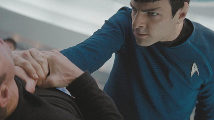 Star Trek Production Photos 2009 Paramount Pictures Zachary Quinto