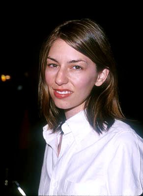 Sofia Coppola at the Hollywood premiere of Disney's The Straight Story