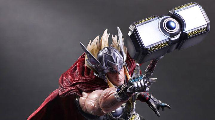Square Enix's Thor goes hard on screaming faces and big beefy muscles