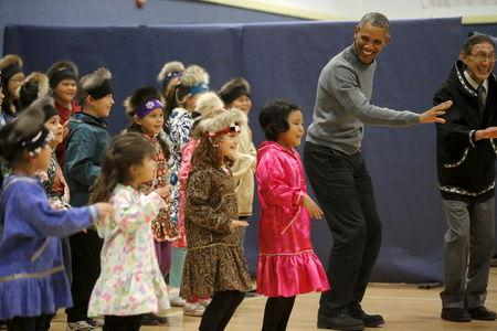 Obama heads to remote reaches of Alaska on last day of tour
