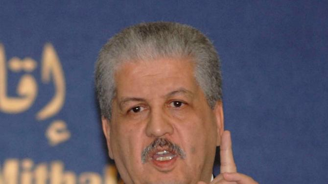 Algerian Prime Minister Abdelmalek Sellal answers questions during a press conference held in Algiers, Monday, Jan. 21, 2013. The Islamist militants who attacked a natural gas plant in the Sahara wore Algerian army uniforms, memorized the layout of the vast complex and included two Canadians and a team of explosives experts ready to blow the place sky-high, Algeria's prime minister said Monday. (AP Photo/Sidali  Djarboub)