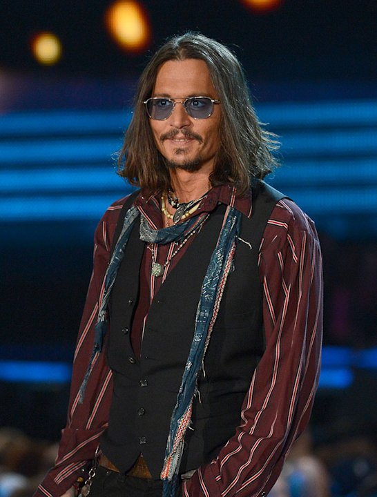 The 55th Annual GRAMMY Awards - Show:  Johnny Depp