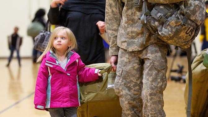 Soldiers From Joint Base Lewis-McChord Return Home From Iraq, As US Pullout Continues