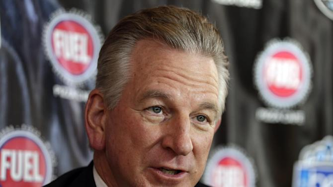Cincinnati head coach Tommy Tuberville answers a question during the media day event for the Belk Bowl NCAA college football game in Charlotte, N.C., Friday, Dec. 27, 2013. Cincinnati faces North Carolina in the Belk Bowl on Saturday