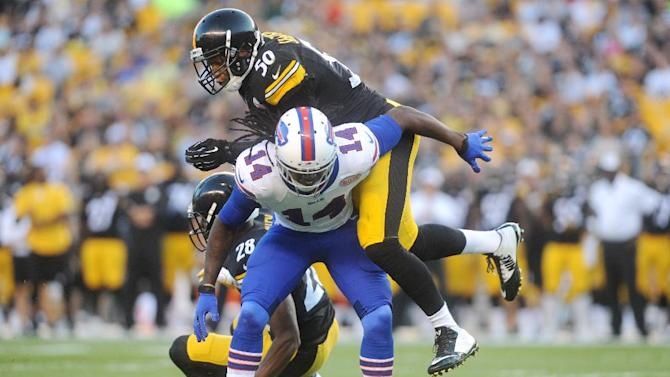 AP source: Bills WR Watkins day to day
