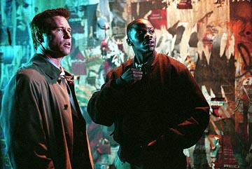 Val Kilmer and Derek Luke in Warner Bros. Spartan