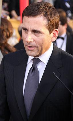 "Steve Carell, actor who plays Michael Scott on ""The Office""."