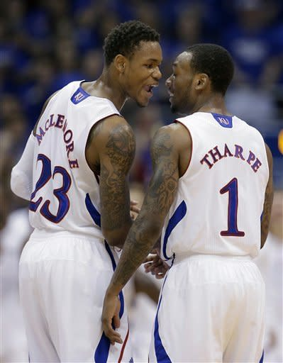McLemore leads No. 9 Kansas past Colorado, 90-54