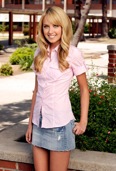 Megan Park as &quot;Grace&quot; stars in &quot;The Secret Life Of The American Teenager&quot;. 