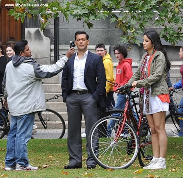 On location: Salman, Katr …