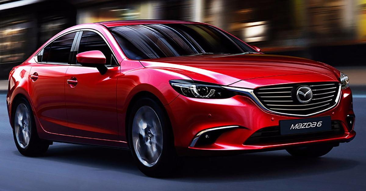 Powerful  But Efficient. MAZDA6