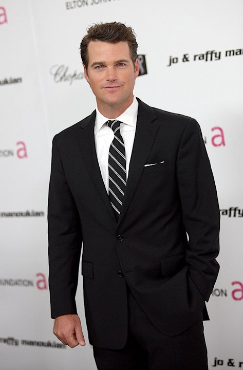 Chris O'Donnell arrives at the 17th Annual Elton John AIDS Foundation's Academy Award Viewing Party held at the Pacific Design Center on February 22, 2009 in Hollywood, California. 