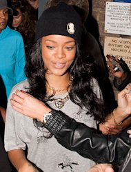 Rihanna is in trouble over t-shirt branded with the very naughty C-word…