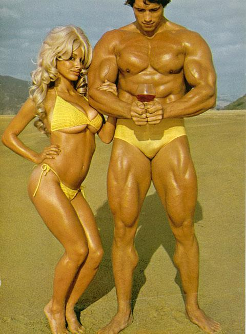 For actor/body builder/lothario Arnold Alois Schwarzenegger, the Speedo was a bitchin' lifestyle that included babes, boobs, and brandy.
