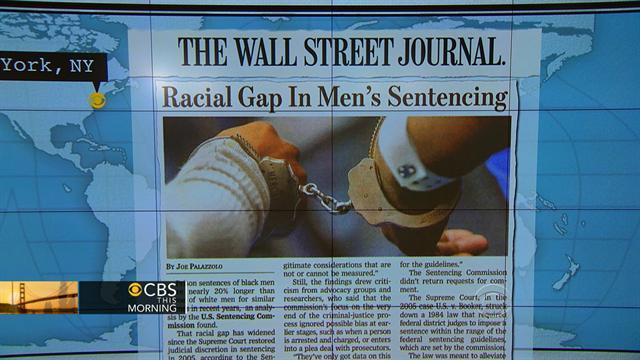 Headlines: Black men sentenced 20 percent longer than whites