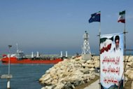 File photo shows an Iranian oil tanker in the Caspian Sea. In a bid to circumvent crippling international sanctions, Iran has been routinely switching off satellite tracking systems on its sea-bound oil tankers, The Washington Post reported