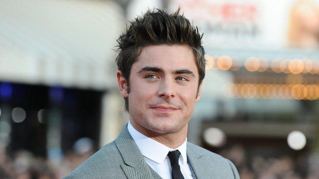 Zac Efron on April 28, 2014 in Westwood -- Getty Images