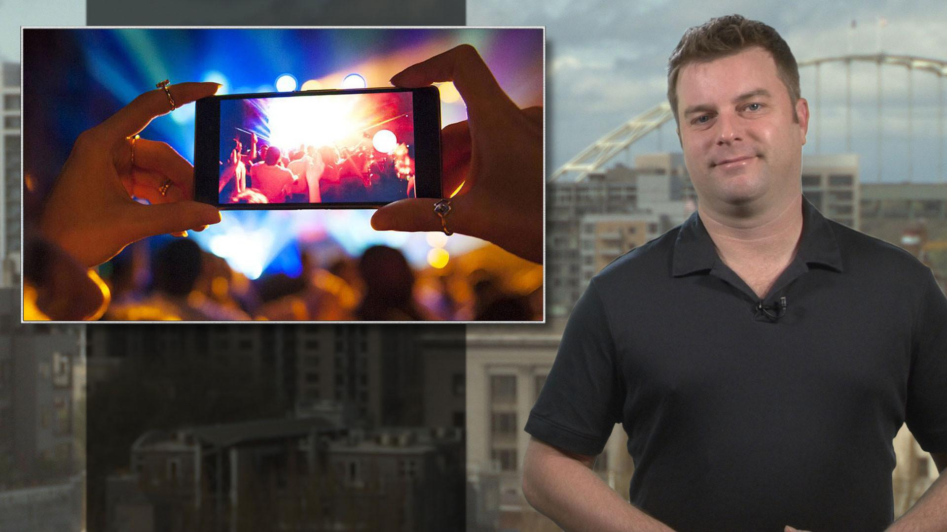 Apple wants to bust your bootlegs by blocking iPhone video recording at concerts