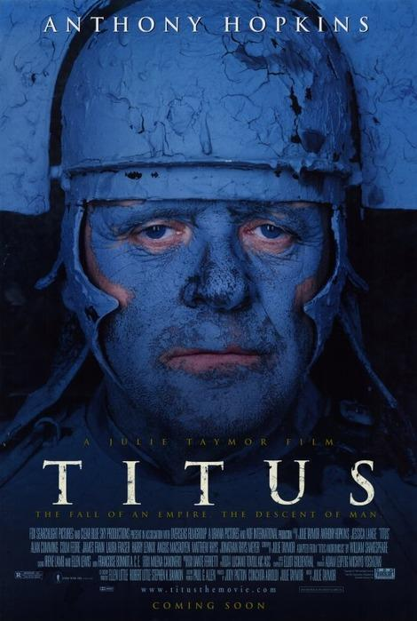 "Movie poster for Julie Taymor's ""Titus"""