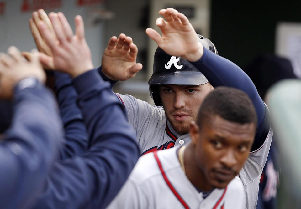 Braves remain on brink, lose to Cubs 3-1