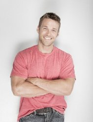 "Celebrity trainer Chris Powell from ""Extreme Makeover: Weight Loss Edition"""