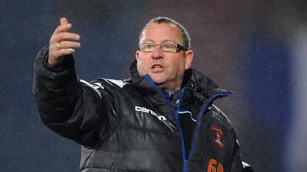 "Greg Abbott hailed Carlisle as ""terrific"" after their win at Doncaster"