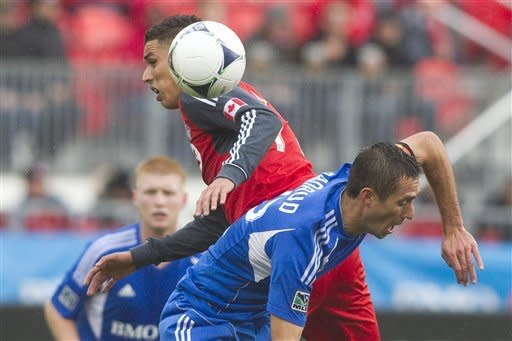 Toronto FC plays scoreless tie against Montreal