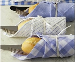 Silverware Bread Wraps
