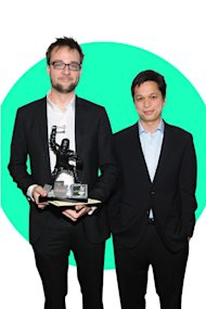 Ben Silbermann and Evan Sharp
