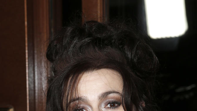 Helena Bonham Carter attends the LA Film Critics Association Awards at the InterContinental Hotel on Saturday, Jan. 12, 2013, in Los Angeles. (Photo by Todd Williamson/Invision/AP)