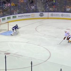 Neal's game-tying breakaway goal