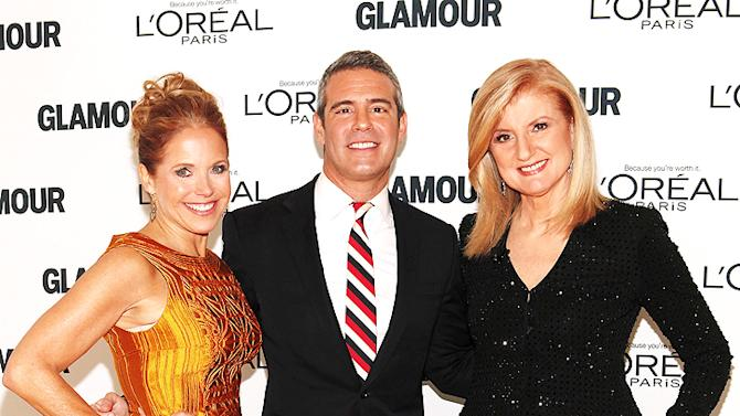 Katie Couric, Andy Cohen, Arianna Huffington