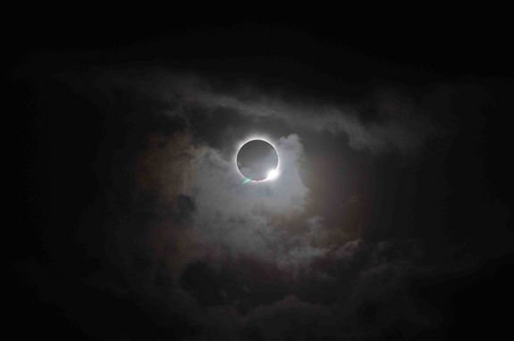 Rare Total Solar Eclipse Darkens Skies Over Australia, South Pacific