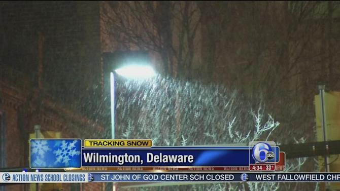 Delaware roads ready for snow