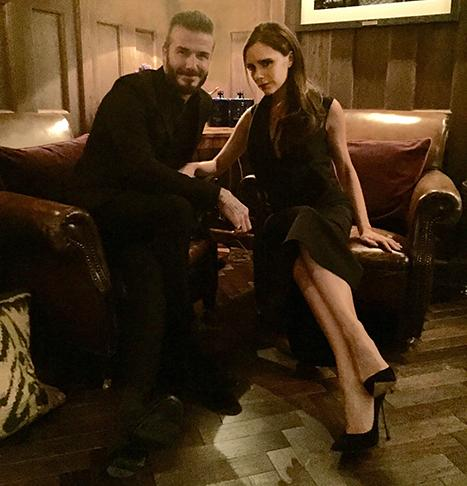 "David Beckham Enjoys Date Night With ""Beautiful Wife"" Victoria Beckham: See the Sexy Couple Out on the Town!"