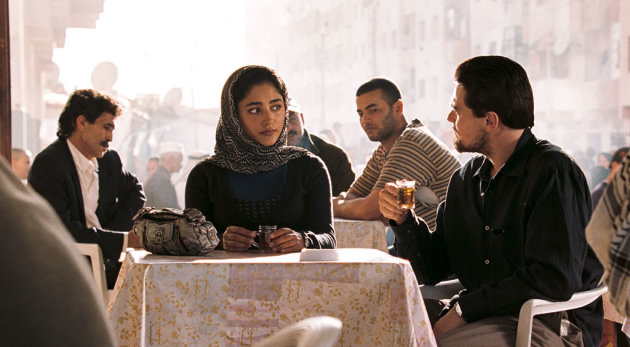 Golshifte Farahani Leonardo DiCaprio Body of Lies Production Stills Warner Bros. 2008