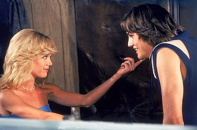"When Kelso (Ashton Kutcher, R) gets a van, he turns it into a love machine to woo Laurie (Lisa Robin Kelly, L) on the ""Red?s Last Day"" episode of Fox's That 70s Show"