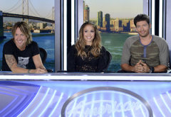 Keith Urban, Jenifer Lopez, Harry Connick, Jr. | Photo Credits: Michael Becker/Fox