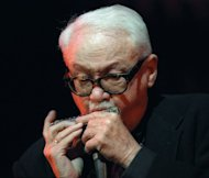 "Belgian master Jean ""Toots"" Thielemans, pictured here in 2001, pioneered the harmonica in jazz, giving it the same luster as a saxophone"
