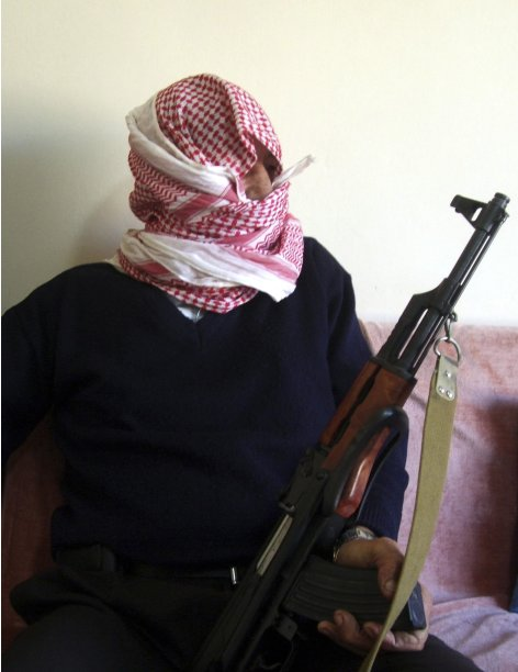 To Match Feature SYRIA-WEAPONS/