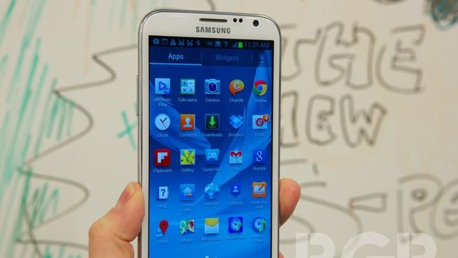 Samsung says Galaxy Note II sales could top 20 million, launch set for October