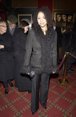 Gloria Reuben at the New York premiere of Miramax's Gangs of New York