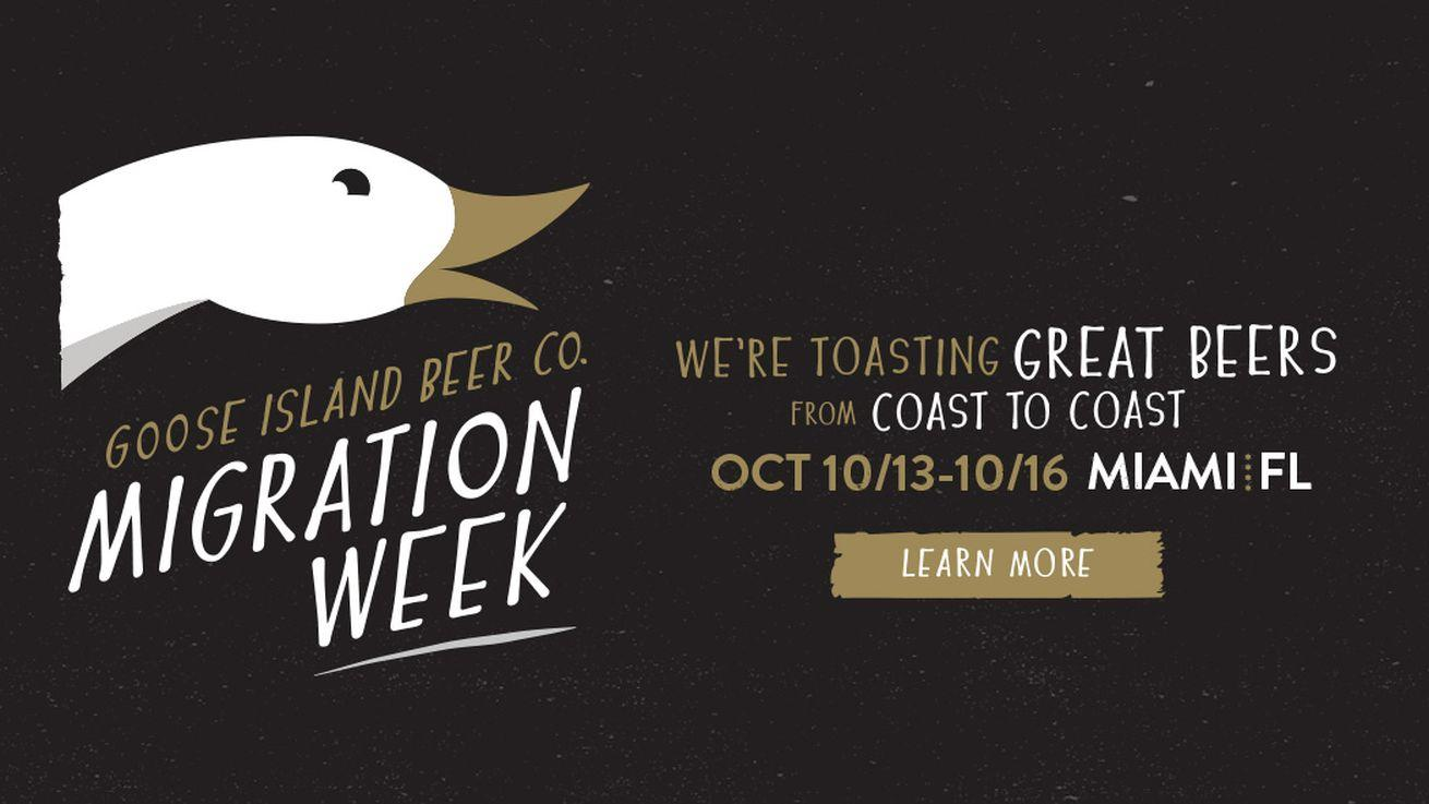 SPONSORED: Where to Find Goose Island Beer at Miami Migration Week