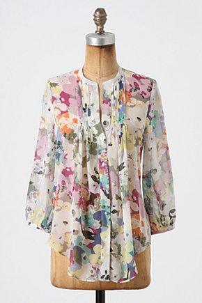 Cavorting Flora Blouse at Anthropologie