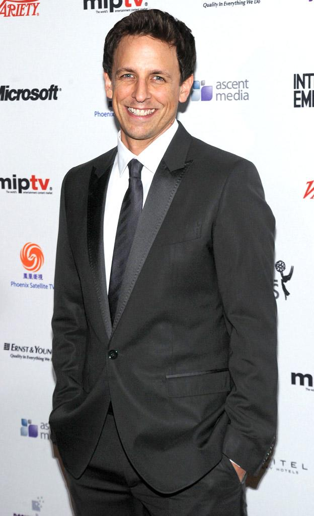 Seth Meyers th International Emmy Awards Arrivals