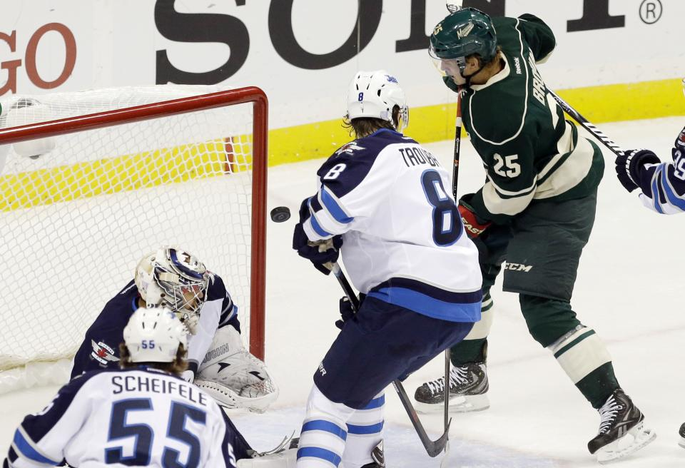 Cooke, Harding help Wild top Jets 2-1 for 1st win