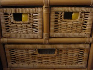 Wicker dresser is pleased to store your things
