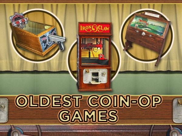 Oldest coin-op games